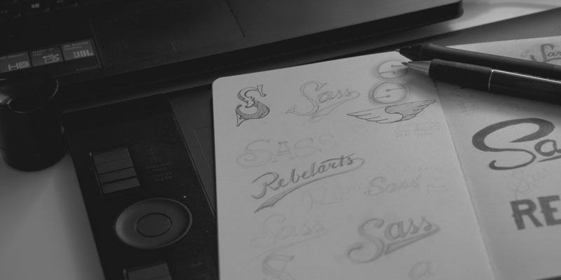 Sass Logo Sketches